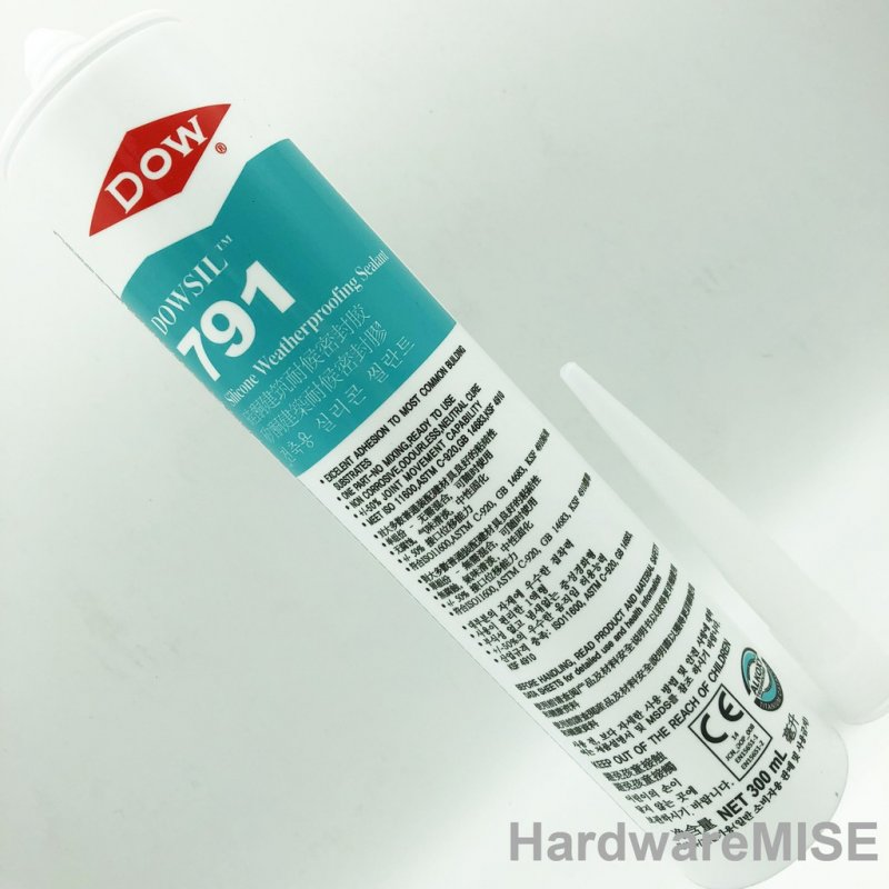 Dow Corning 791 Silicone Weatherproofing Sealant Dowsil Silicone Sealant (2  Colors)