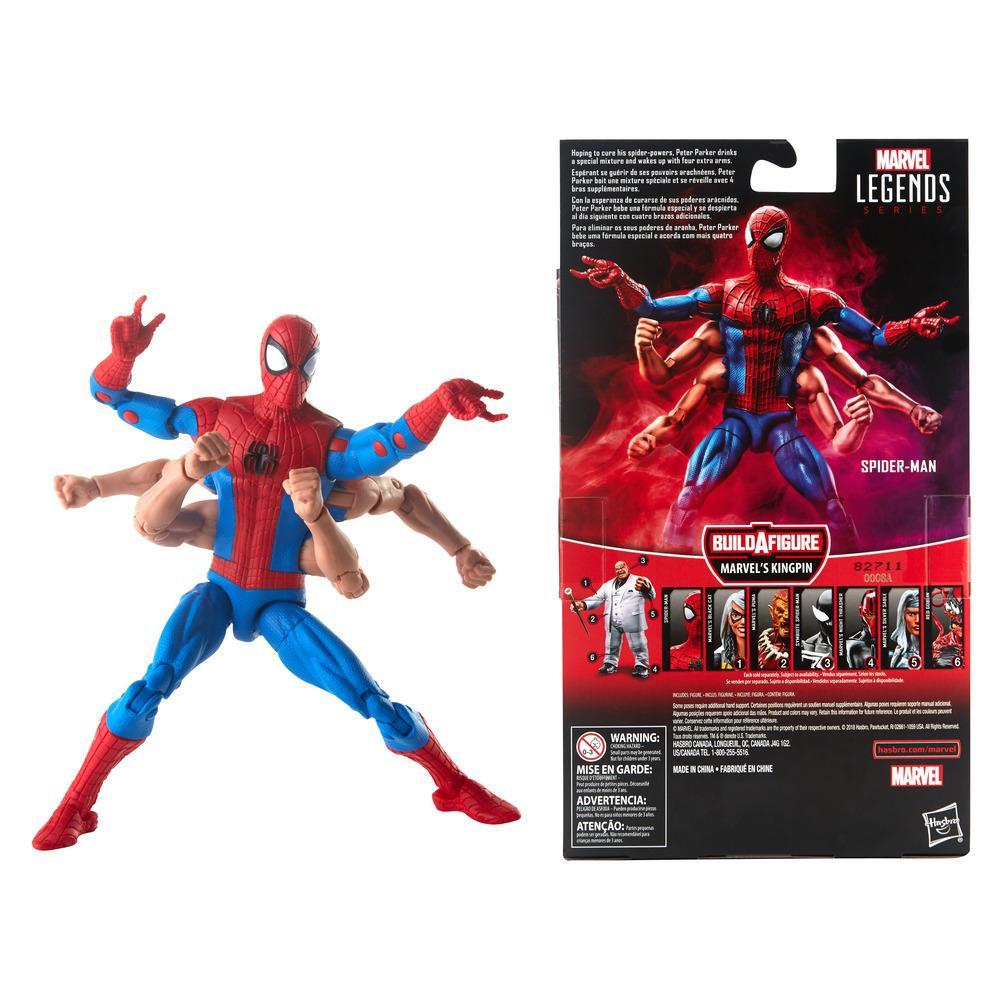 Spider-Man Legends Series 6-inch Marvel/'s Six-Arm Action Figure