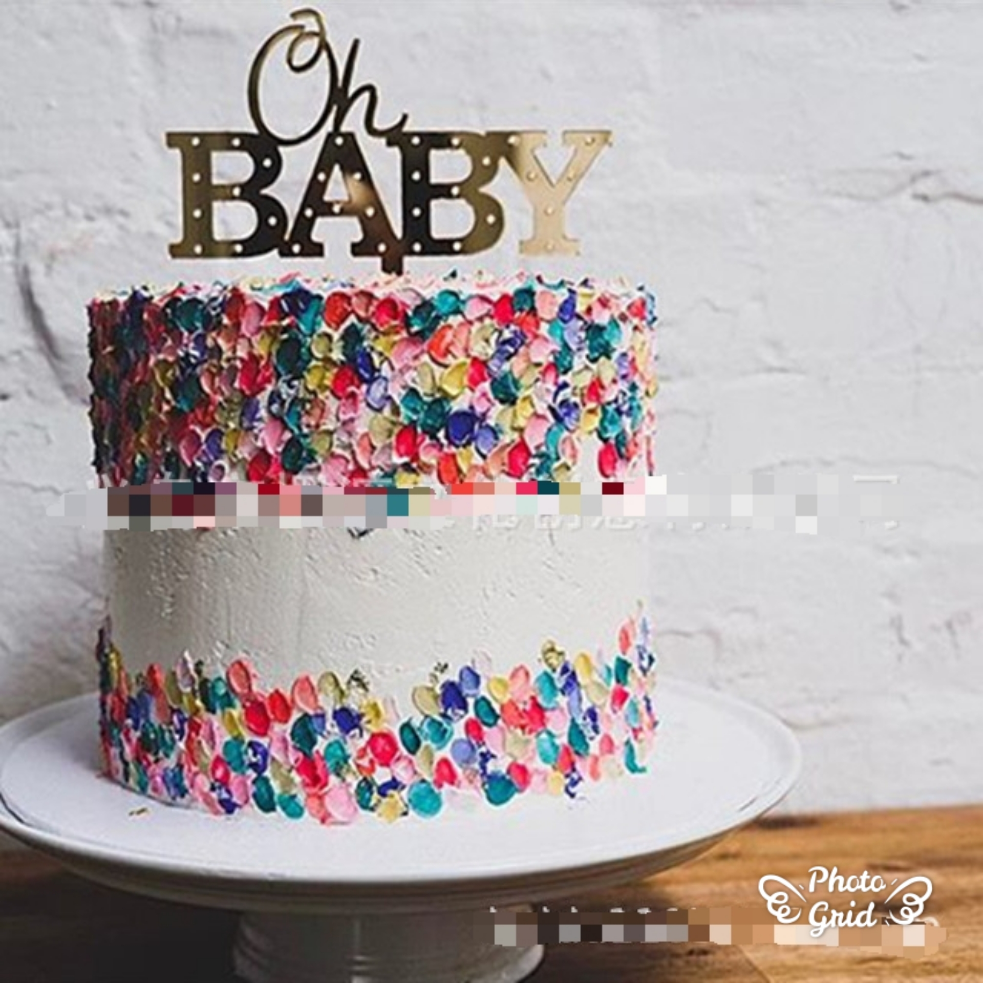 Excellent Buy Lsthometrading Oh Baby Birthday Cake Topper Personalized Baby Funny Birthday Cards Online Aeocydamsfinfo