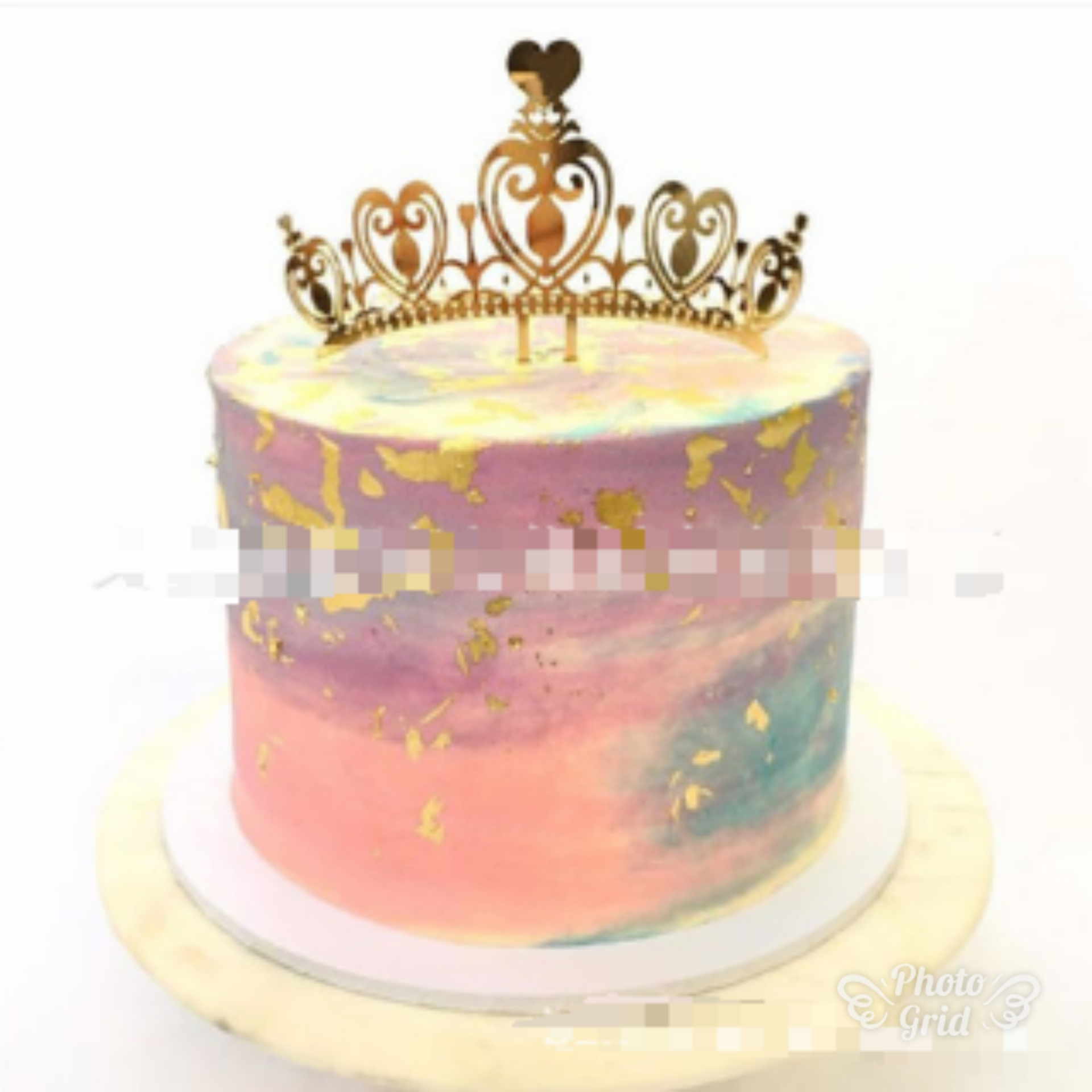 Awesome Buy Lsthometrading Princess Crown Gold Giltter Cake Topper 1St Funny Birthday Cards Online Alyptdamsfinfo