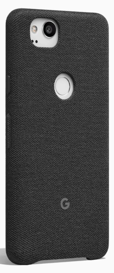 new styles 4f4f6 4f1ce Google Official Pixel 2 | Pixel 2 XL (5-inch) Fabric Case - (Carbon, Coral  or Midnight)