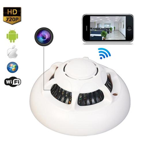 Buy Chmobilecam Ufo Smoke Detector Wifi Spy Hidden Camera Online
