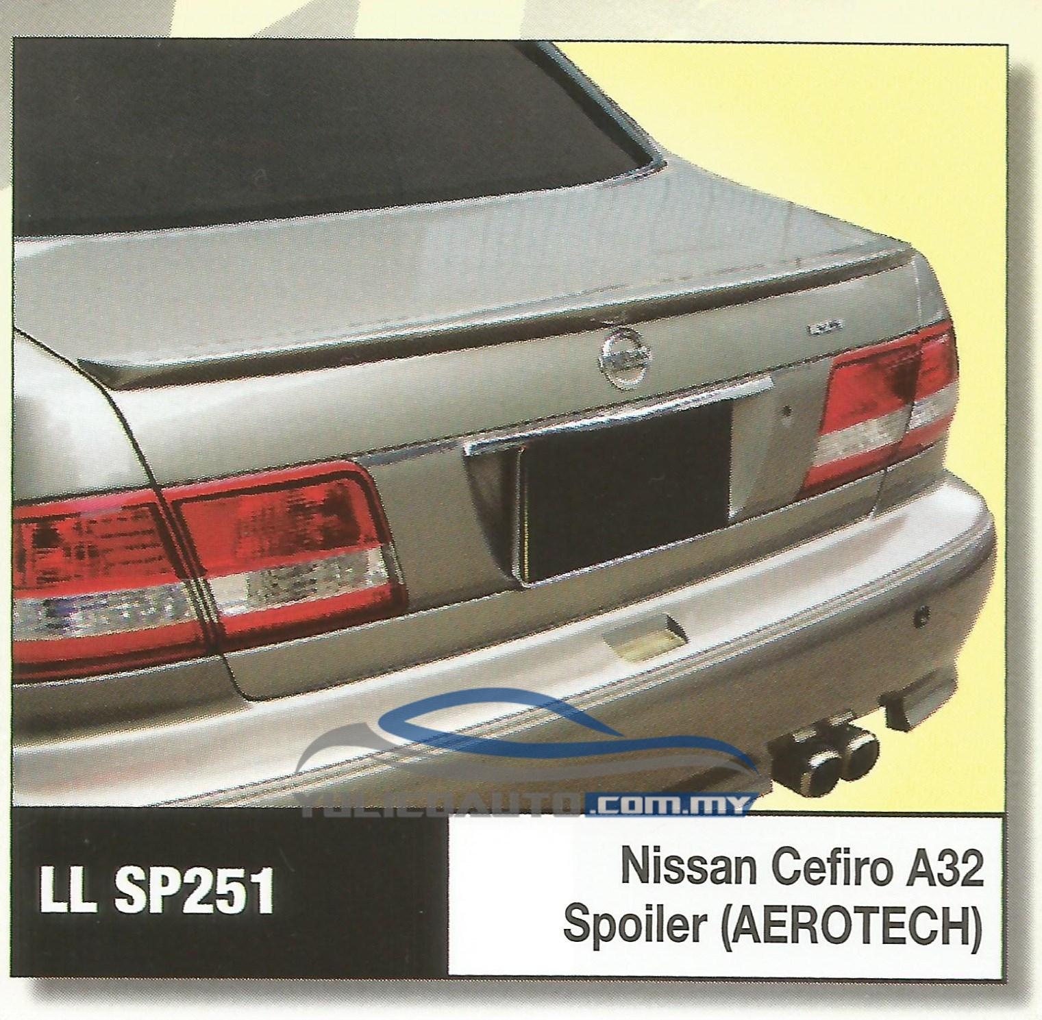 Buy Yulicoauto Nissan Cefiro A32 Spoiler Frp Eromman