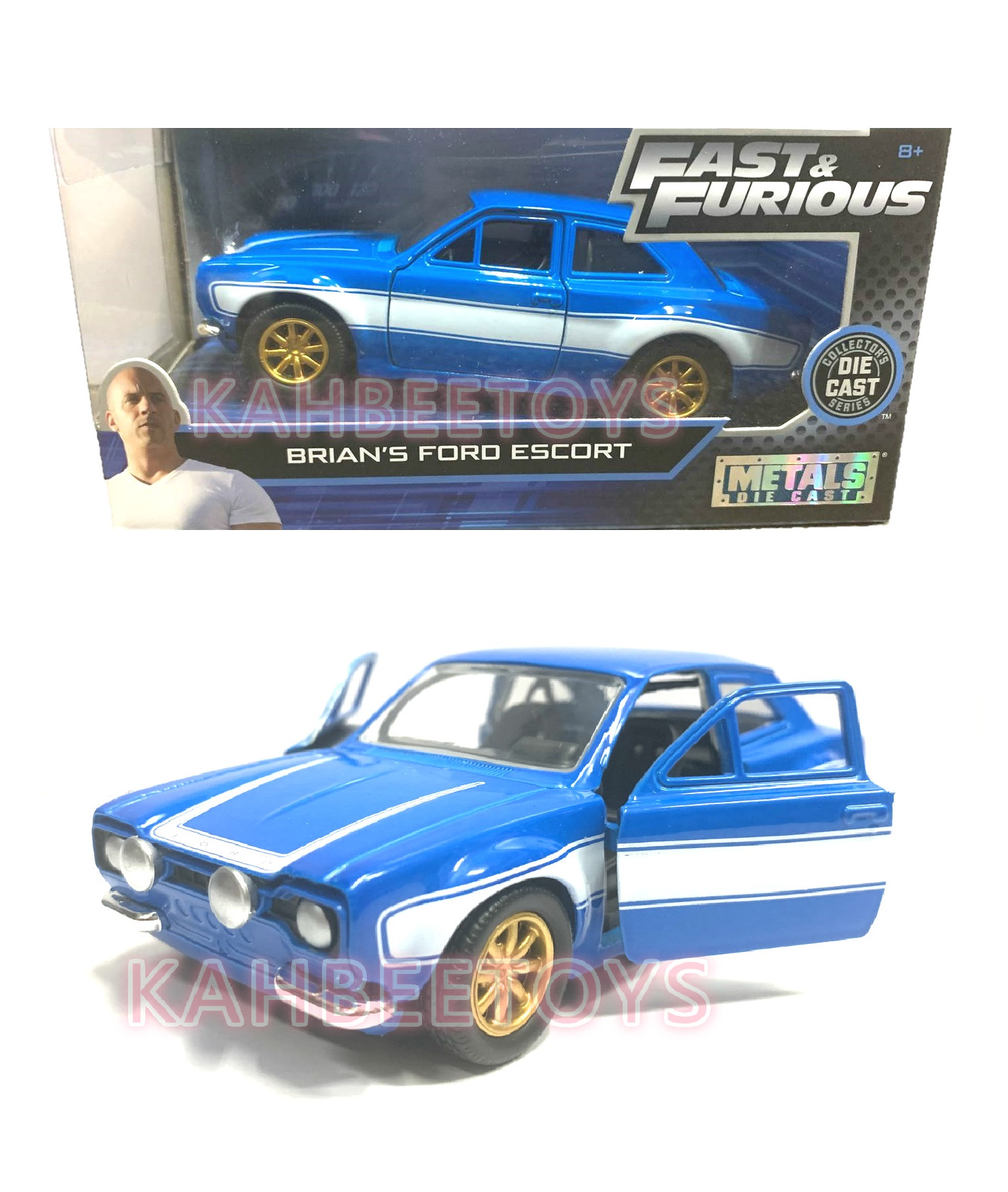 Modellino auto film Movie BRIAN/'S MITSUBISHI LANCER VII 7 FAST and FURIOUS 1:32